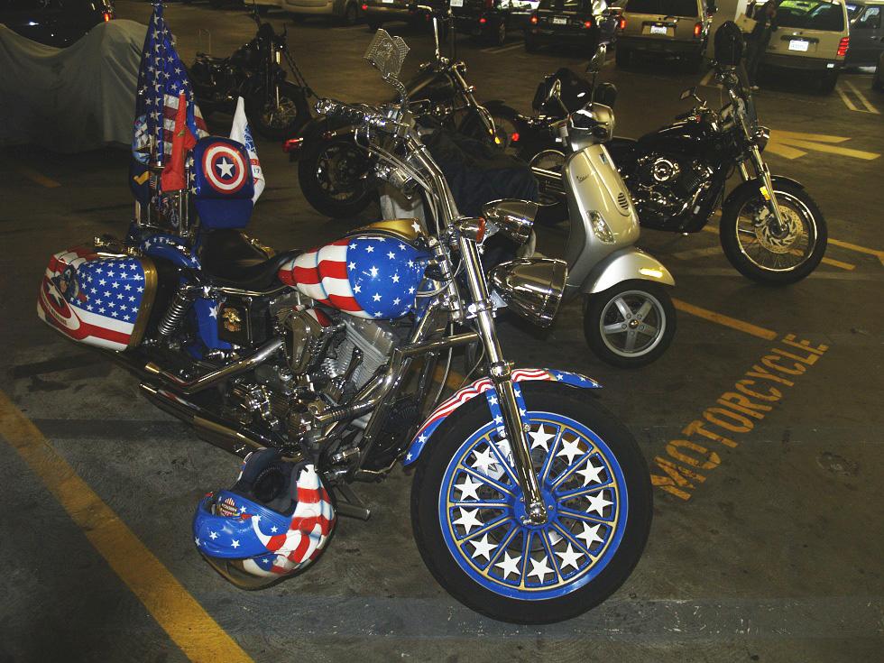 Moto Capitan America